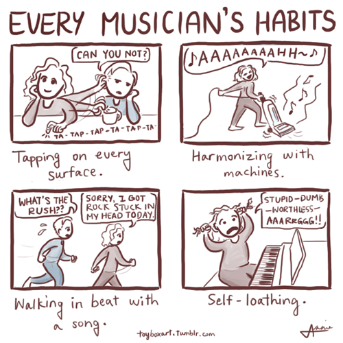 Every Musician's Habits