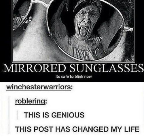 funny-doctor-who-weeping-angels-kryptonite-mirror