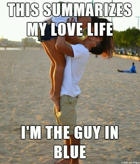love life for the guy in blue