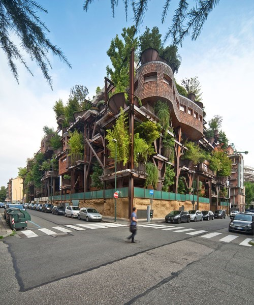 This Italian Apartment Complex Looks More Like a Giant Treehouse!