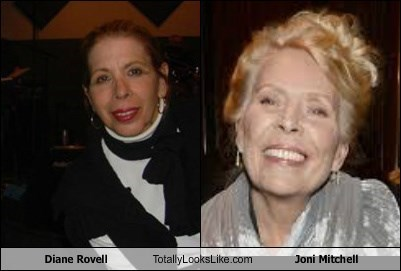 Diane Rovell Totally Looks Like Joni Mitchell