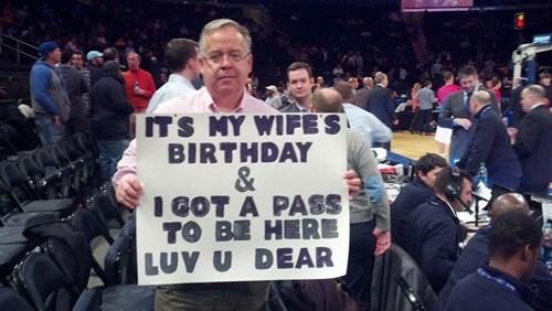 he's got a wonderful wife