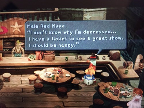FF9 Perfectly Describes Depression