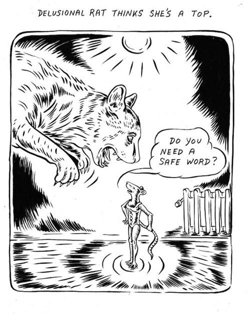 delusion,rats,safe word,web comics