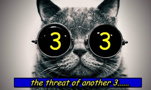 three again.....