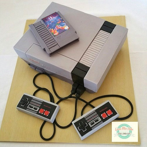 Take a Bite Out of This Pixel-Perfect NES Cake!