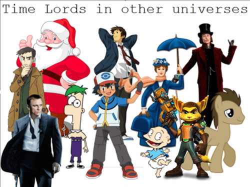 The World is Full of Time Lords