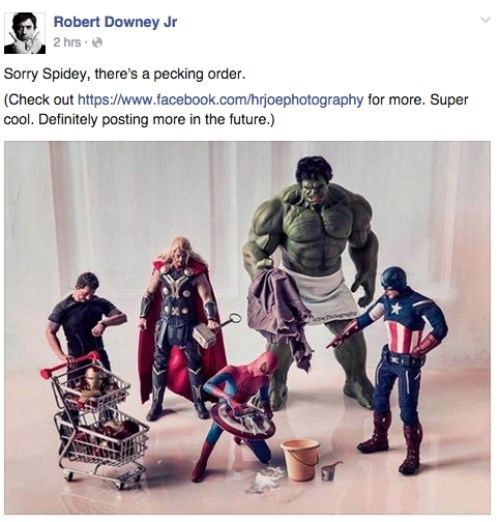 Robert Downey Jr Spends Too Much Time Online