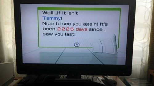 Wii Fit Remembers...