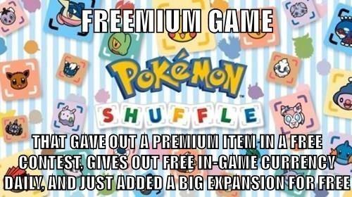 Good Game Pokémon Shuffle