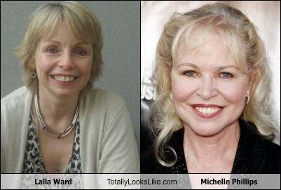 Lalla Ward Totally Looks Like Michelle Phillips
