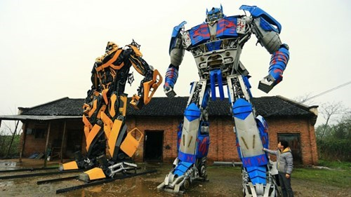 Just Look at the Size of These Homemade Transformers