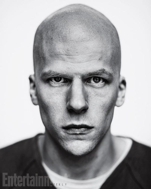 superhero memes news jesse eisenberg lex luthor first pic