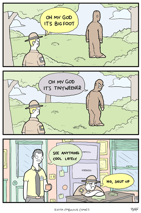 This is Why Park Rangers Don't Talk About Big Foot