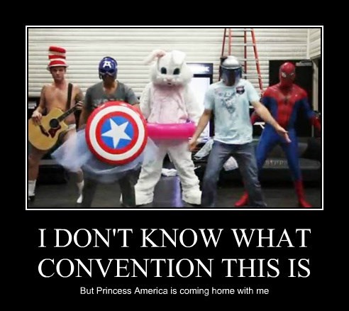 I DON'T KNOW WHAT CONVENTION THIS IS