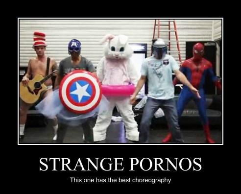 STRANGE PORNOS