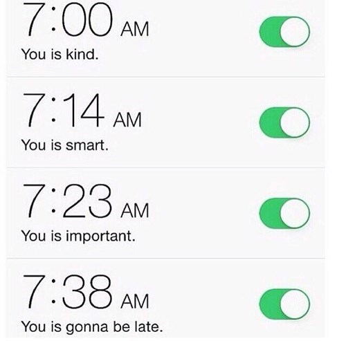 The Many Stages of Alarm