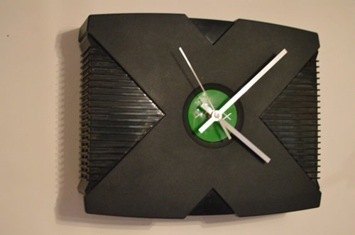 Recycled Games Console Clocks