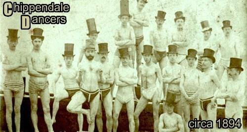 Chippendale Dancers circa 1894