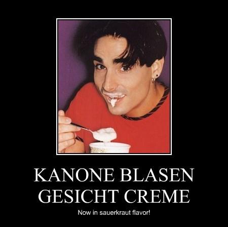 KANONE BLASEN GESICHT CREME