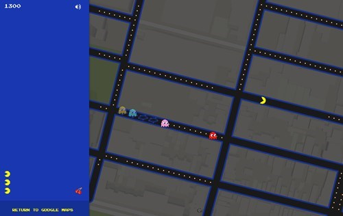 Distraction of the Day: You Can Now Play Pac-Man on Google Maps
