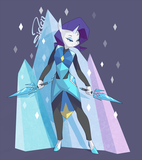 my-little-brony-gembros-rarity-crystal-gem-fanart
