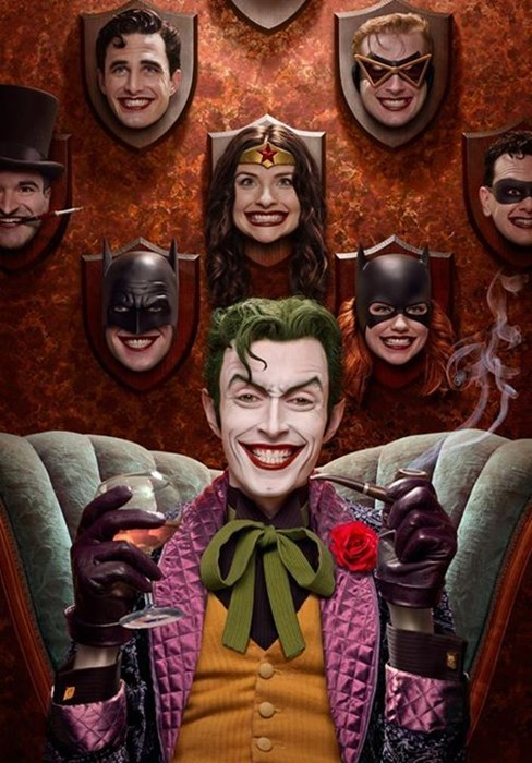 Fan Recreates Joker Comic Art