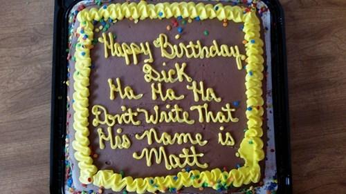 Damn Cake Makers...
