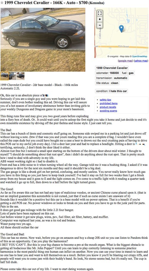 funny-chevy-cavalier-for-sale-craigslist