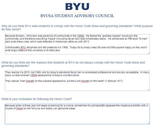 "Getting Dangerously Honest With the BYU ""Honor Code"""