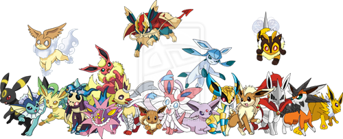 These Additional Eeveelution Types Look Amazing