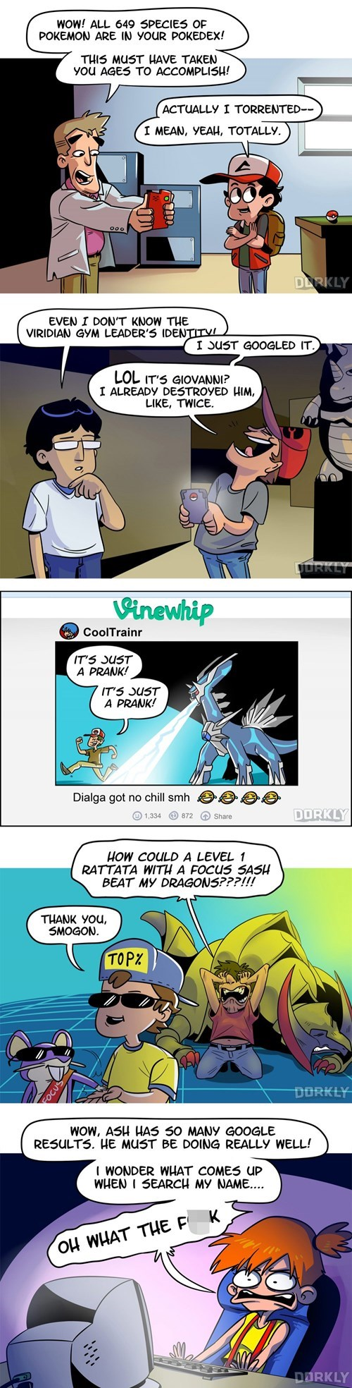It's a Good Thing the Pokémon Universe Doesn't Have the Internet