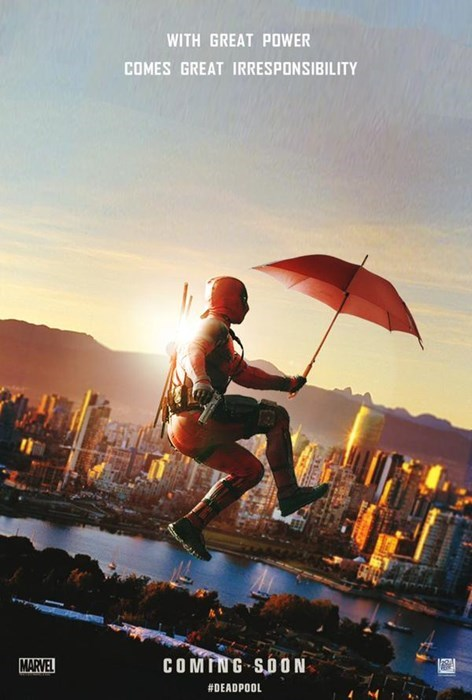 Ryan Reynolds' Approved Deadpool Fan Poster