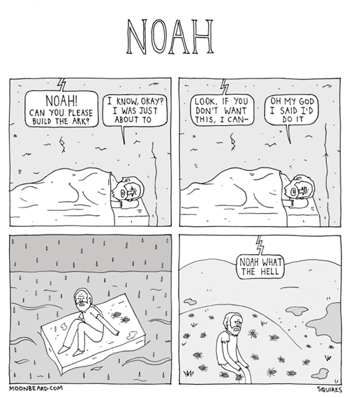 What If Noah Was a Millennial?