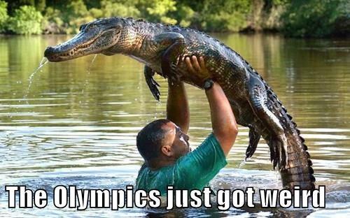 The Olympics just got weird
