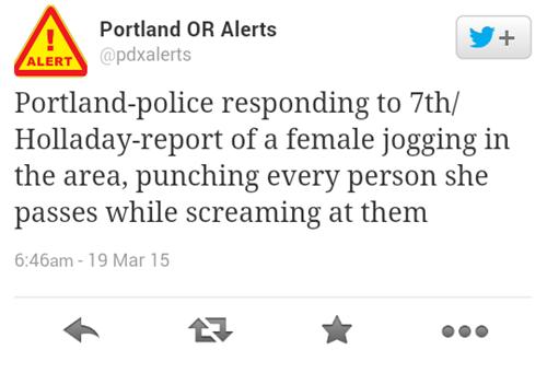 Never Change, Portland