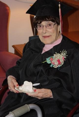 103 Year-Old Woman Fulfills Her Dream of Getting a High School Diploma