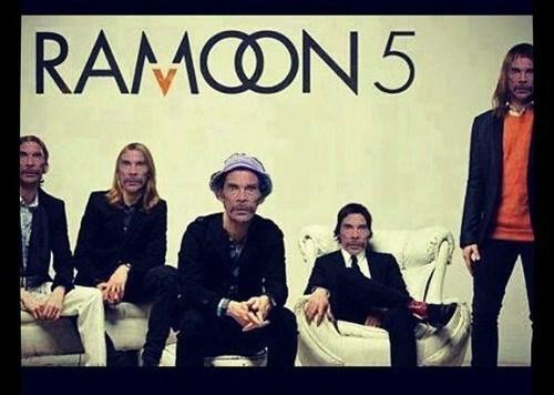 "Adam ""Ramon"" Levine is Maroon 5..."