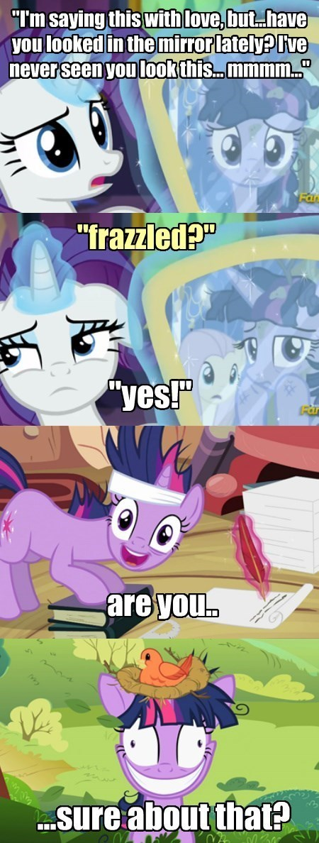 Rarity's Memory Problems