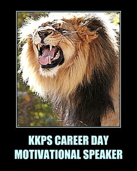 KKPS CAREER DAY MOTIVATIONAL SPEAKER