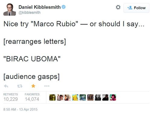 Marco Rubio Has Been Lying to Us This Whole Time!