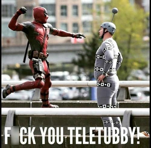 Deadpool Fighting The Dangerous MoCap Man
