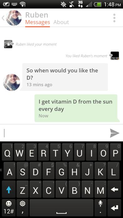 always get the d