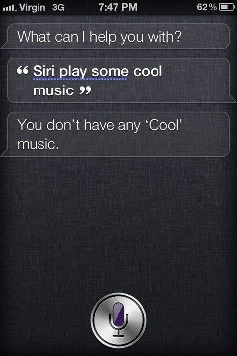 Why So Mean, Siri?