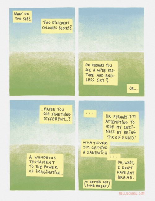 This Comic Will Challenge Your Perception of Everything