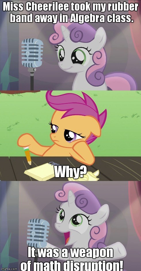 Stand Up Pony