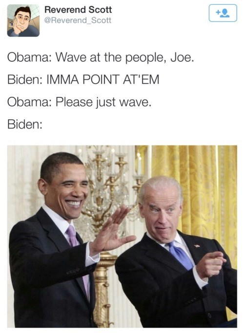 Biden Plays by His Own Rules