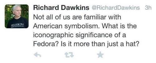 funny-twitter-pic-richard-dawkins-fedora