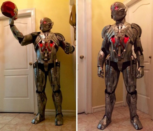 There's No Strings Attached With This Awesome Ultron Cosplay