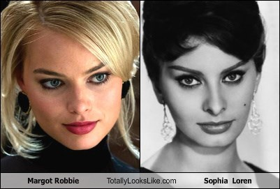 Margot Robbie Totally Looks Like Sophia  Loren